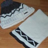 Комплект: шапочка+шарфик (польша)
