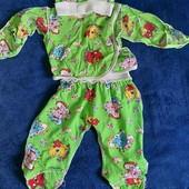 Дитячий костюм тройка і штани на байці в подарок