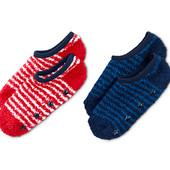 ☘ Махрові тапочкі- носочки з антиковзаючою стопою Tchibo (Німеччина), розмір 35-38