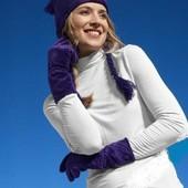 Уютные плюшевые перчатки от Tchibo Размер 7.5