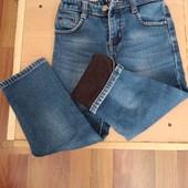 Теплі джинси для хлопчика.довжина 64см