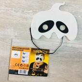 ☘ Лот 1 шт ☘ Маскарадна маска з войлоку від Halloween (Німеччина), розмір one size