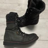 Кожаные ботинки Lasocki 35 размер стелька 22 см