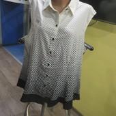Новая блуза ПОГ-65см. не светится.