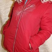 куртка женская на силиконе, зима! отдаю по скидке, размер хл. на 46/48 наш. акция!
