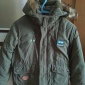 Теплая зимняя куртка с жилеткой в идеале!