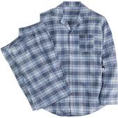 Townland®Германия -M-L-XL- фланель мужской теплый комплект костюм пижама премиум качество