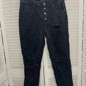 Fashion Nova джинсы с прорезями, 9
