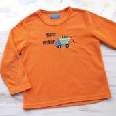 Тёпленькая мягусенькая флисовая кофточка Primark для дома и сна на 4-6 лет