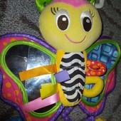 ❣️Скидка УП!!! Playgo Подвеска на коляску или кроватку Бабочка