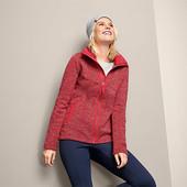☘ В'язана куртка з флісу з застібкою на блискавку, Tchibo(Германія), р. наши: 52-54 (xl евро)