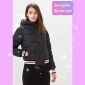 ***Эксклюзив*** Стильная брендовая стеганая куртка с нашивками,еврозима, размер М-Л, новая