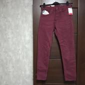 Фирменные новые коттоновые мужские джинсы р.28-30 на пот-36-37,5 поб-45