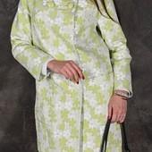 Стильное,яркое пальто. Количество ограничено. Замеры в описании
