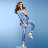 ☘ М'яка і ніжна блуза-туніка з біо-бавовни від Tchibo (Німеччина), розміри наші: 46-50 (40 євро)
