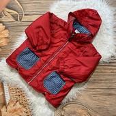 Класснючая демисезонная курточка на 3 года рост 98см