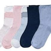 ☘Лот 5 пар☘ Чудові шкарпетки від Tchibo(Німеччина), розміри: 35-38